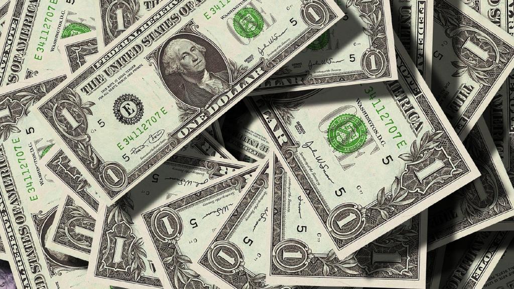 Paper money bills